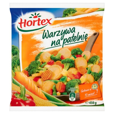 [HORTEX] Warzywa na patelnię 400g/14szt