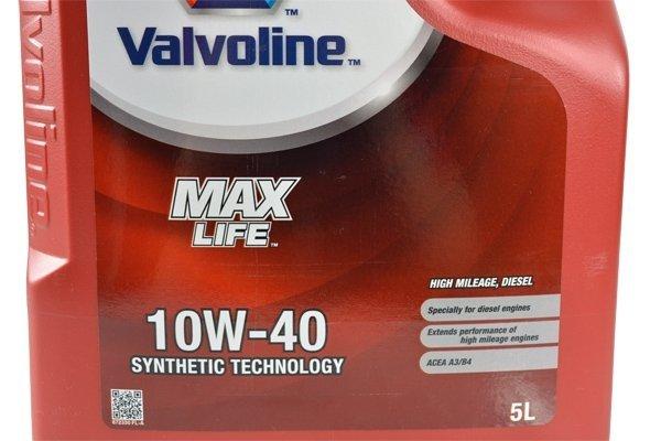 VALVOLINE MAXLIFE 10W40 DIESEL 5L