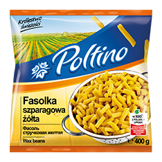 1013 Poltino Fasolka Szparagowa Zółta 400g 1x12