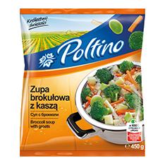 1032 Poltino Zupa Brokułowa 450g 1x12