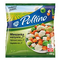 1023 Poltino Mieszanka Warzywna 7 450g 1x12