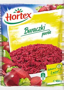 1134 Hortex Buraczki Puree 450g 1x14