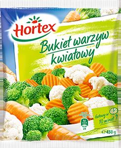 1148 Hortex Bukiet Jarzyn Kwiatowy 450g 1x14
