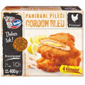 30001 CHO Breaded Chicken Cordon Bleu 400g 1x10