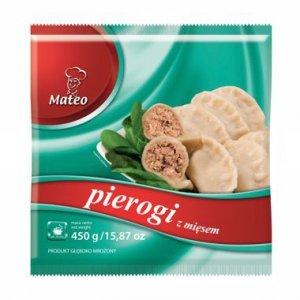 7010 Mateo Pierogi z MIęsem 450g (1x12)