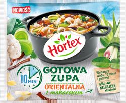 1160 Hortex Zupa orientalna z makaronem 450g 1x14