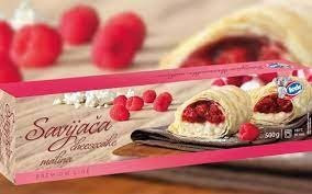 30010 CHO Strudel cheesecake and Raspberry 500g 1x8