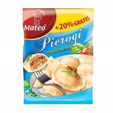 7011 Mateo Pierogi z Mięsem 900g (1x6)