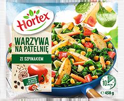 Warzywa Na Patelnię ze szpinakiem 450g 1x14