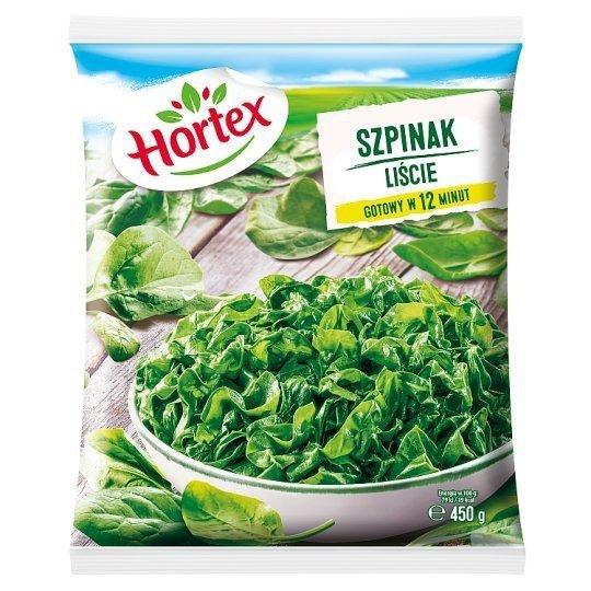 1209 Hortex Szpinak liście 450g 1x14