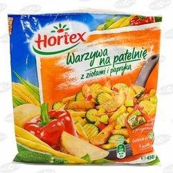 Warzywa Na Patelnię ziołami i papryką 450 g 1x14