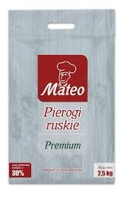 7031 MATEO Pierogi ruskie 2 x 2,5 kg