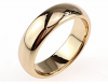 gold ring 16,60mm. gold-plated engagement xuping