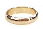 gold ring 16,30mm. gold-plated engagement xuping