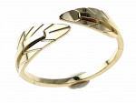 ring 20,60mm gold stainless steel