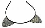 Opaska 06 do włosów uszy kota kotek wieczór panieński