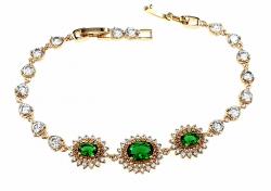 gold-plated 18k gold bracelet