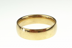 ring 19,30mm gold stainless steel