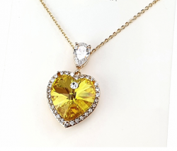 gold necklace. gold plated 18k xuping