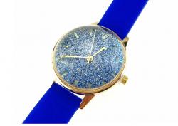 2104 Damski zegarek złoty gumowy KURREN