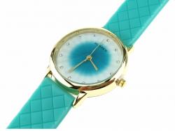 513 Damski zegarek złoty gumowy KURREN