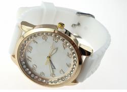 1171 Damski zegarek złoty gumowy KURREN
