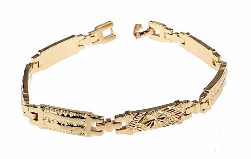 sz36 Bransoletka złota pozłacana 18k Xuping