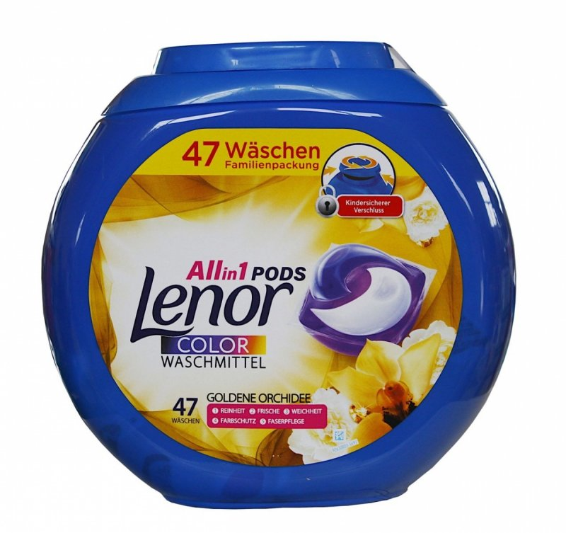 Lenor All in1 Color Goldene Orchidee kapsułki do prania 47 szt.