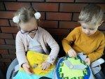 Książeczka sensoryczna dziewczynka i chłopiec 3+