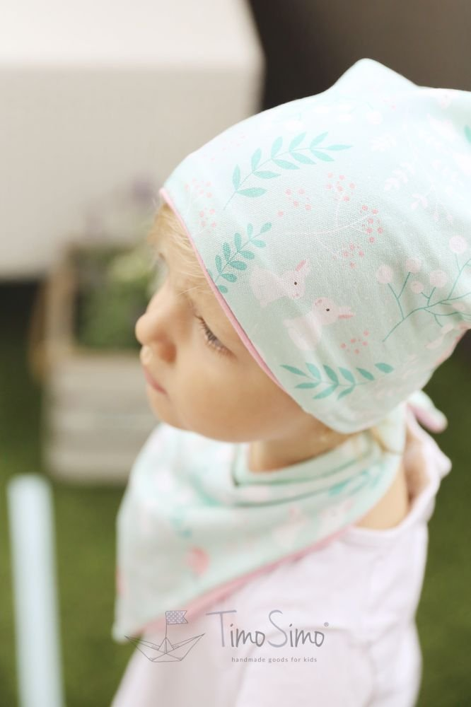Knitted hat for children