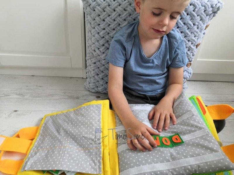 książeczka sensoryczna 5+ przedszkolaki