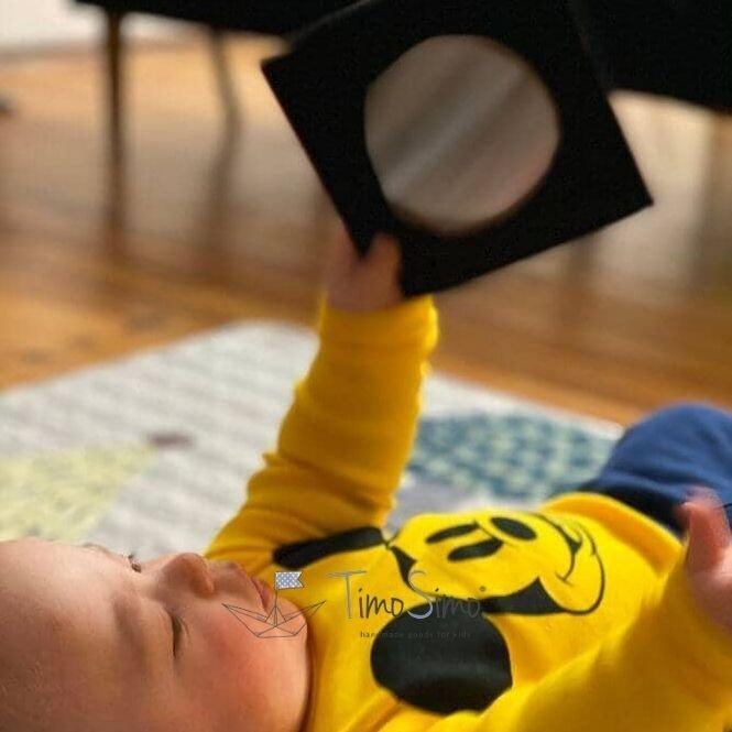 Książeczka sensoryczna mini 0+ dla niemowląt