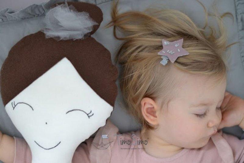 Lalka ręcznie szyta Melania XL