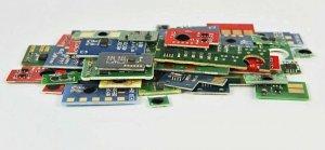 Chip Yellow Ricoh PC301 (408343)