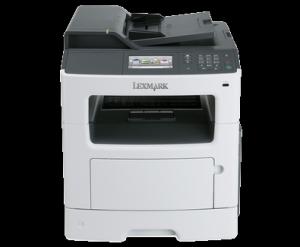 Lexmark MX410de urządzenie wielofunkcyjne dupleks sieć