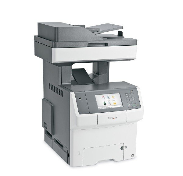 Wielofunkcyjna drukarka LEXMARK XS748DE przebieg 56926 str.