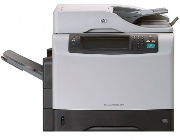 HP LJ 4345 MFP DUPLEX LAN FINISHER FAX GW18