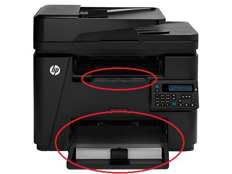 4w1 HP LaserJet Pro 200 M225dn MFP bez tacek