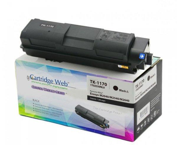 Toner Cartridge Web Czarny Kyocera TK1170 zamiennik TK-1170