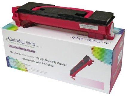 Toner Cartridge Web Magenta Kyocera TK550/TK552 zamiennik TK-550M