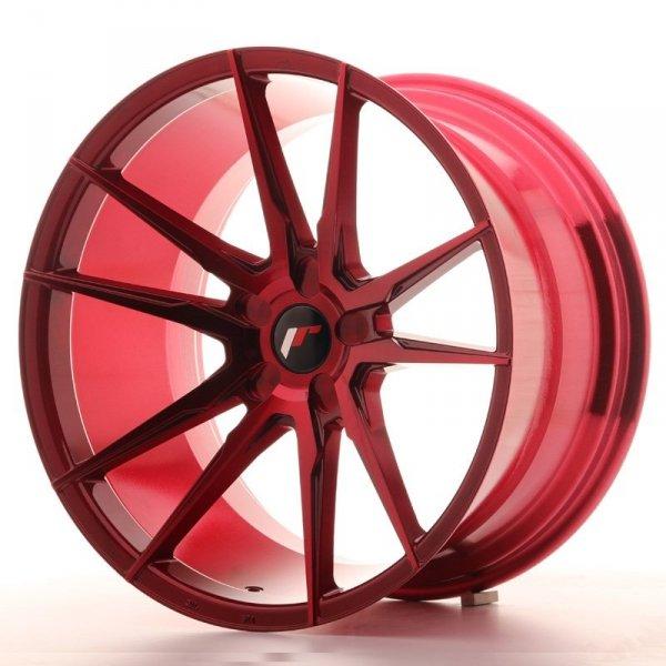 Japan Racing JR21 20x11 ET20-30 5H Blank Plati Red