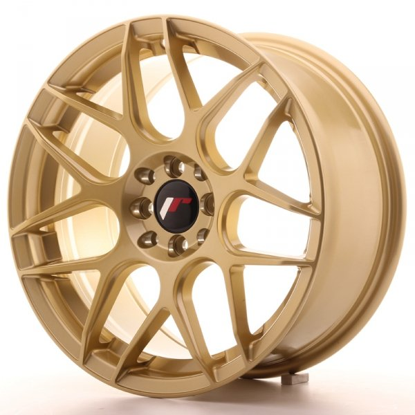 Japan Racing JR18 17x8 ET35 4x100/114 Gold