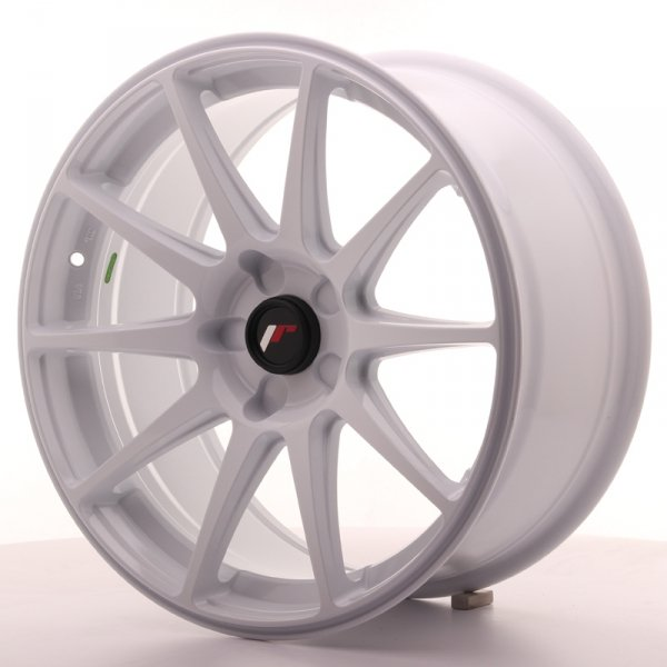 Japan Racing JR11 18x8,5 ET35-40 5H Blank White
