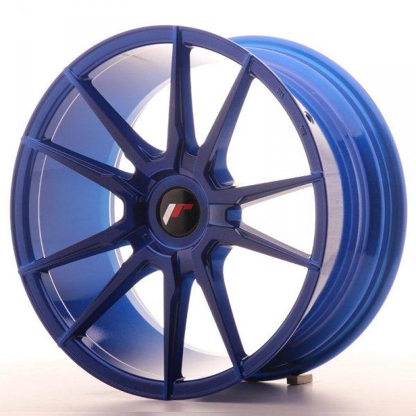 Japan Racing JR21 18x8,5 ET40 Blank Platinium Blue