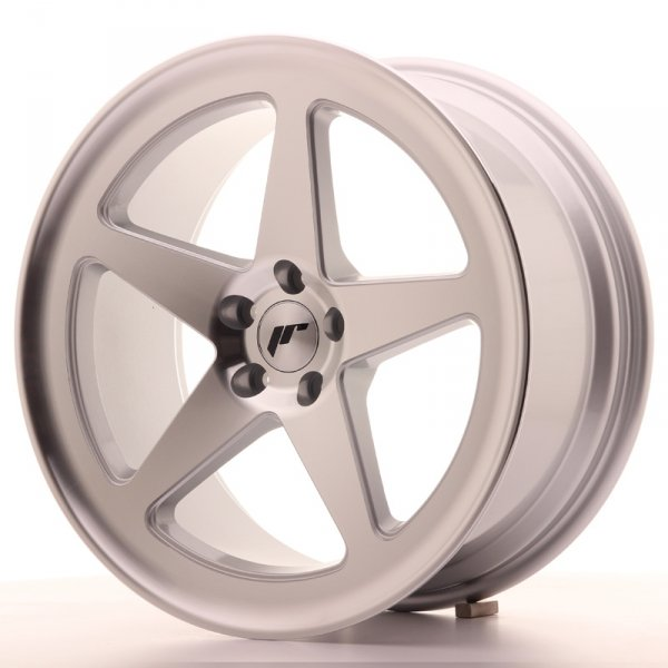 Japan Racing JR24 18x8,5 ET42 5x112 Machined Silve