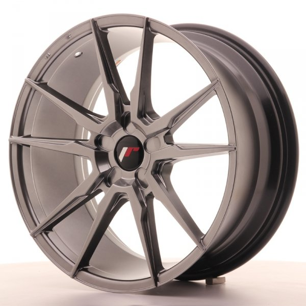 Japan Racing JR21 19x8,5 ET20-40 5H Blank Hyper Bl