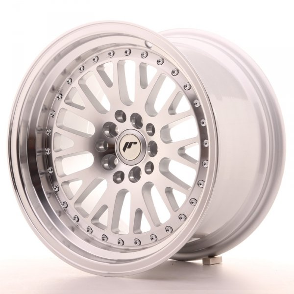 Japan Racing JR10 16x9 ET10 5x100/114 Machined Sil