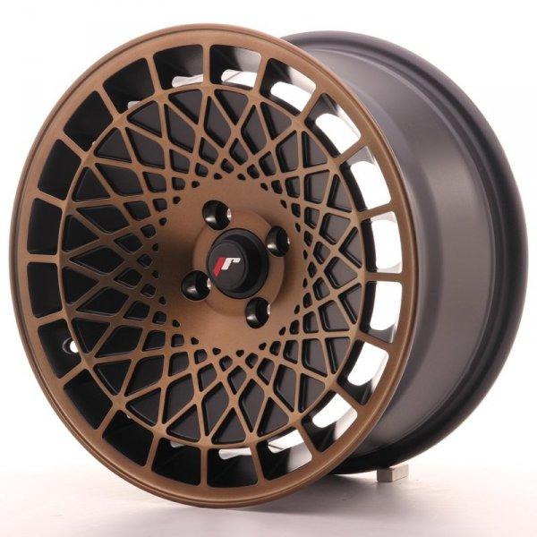Japan Racing JR14 16x8 ET25 4x100 BlackBronzFinish