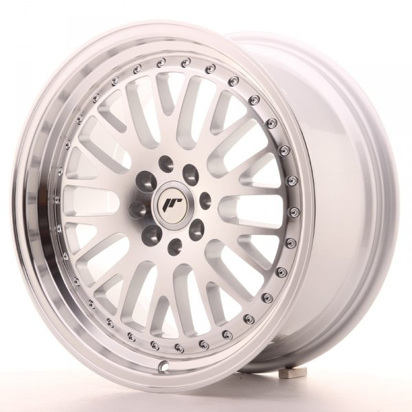 Japan Racing JR10 17x8 ET35 5x108/112 Machined Sil
