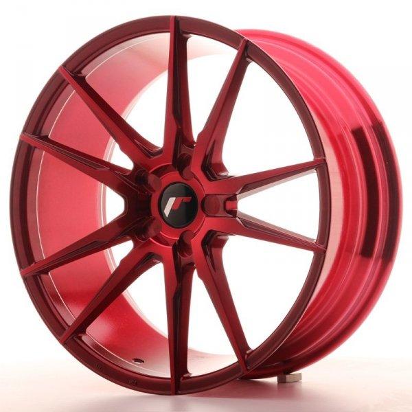 Japan Racing JR21 20x8,5 ET40 5H Blank Plat Red